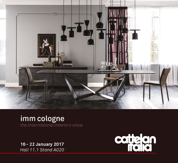 versat cattelan italia invitaci n imm cologne 2017. Black Bedroom Furniture Sets. Home Design Ideas
