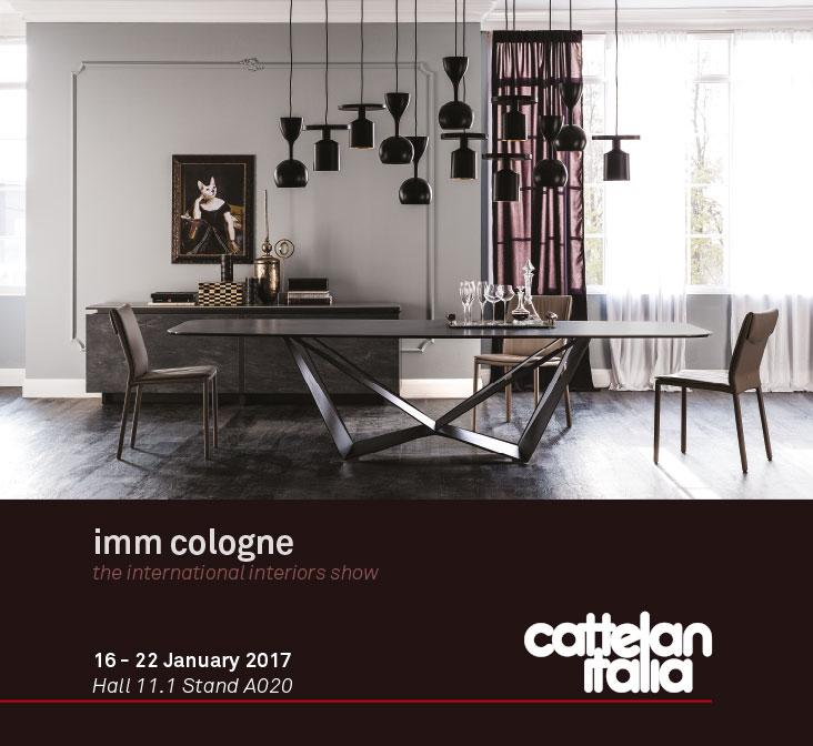versat cattelan italia invitaci n imm cologne 2017. Black Bedroom Furniture Sets. Home Design Ideas